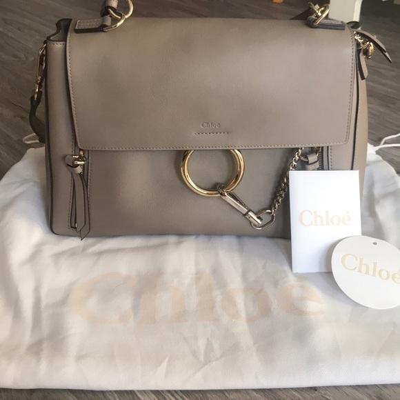 847f52af88 Brand New! Chloe Faye Day Bag - Medium